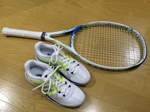 テニス再開