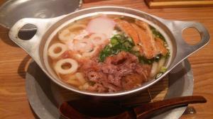 松山の鍋焼きうどん