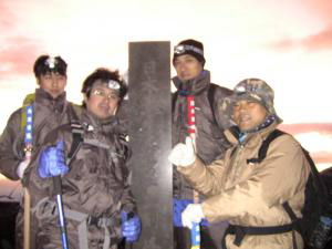 富士山頂 剣が峰2010