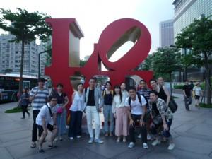 台北101前