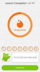 34 day streak